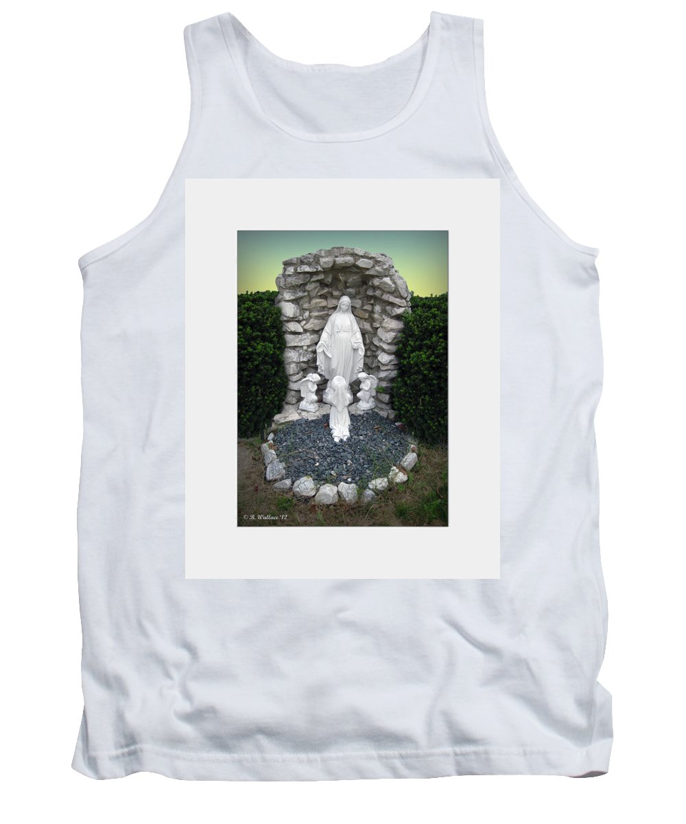 2d Tank Top featuring the photograph Madonna by Brian Wallace