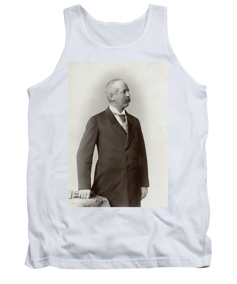 1890 Tank Top featuring the photograph Man, C1900 by Granger