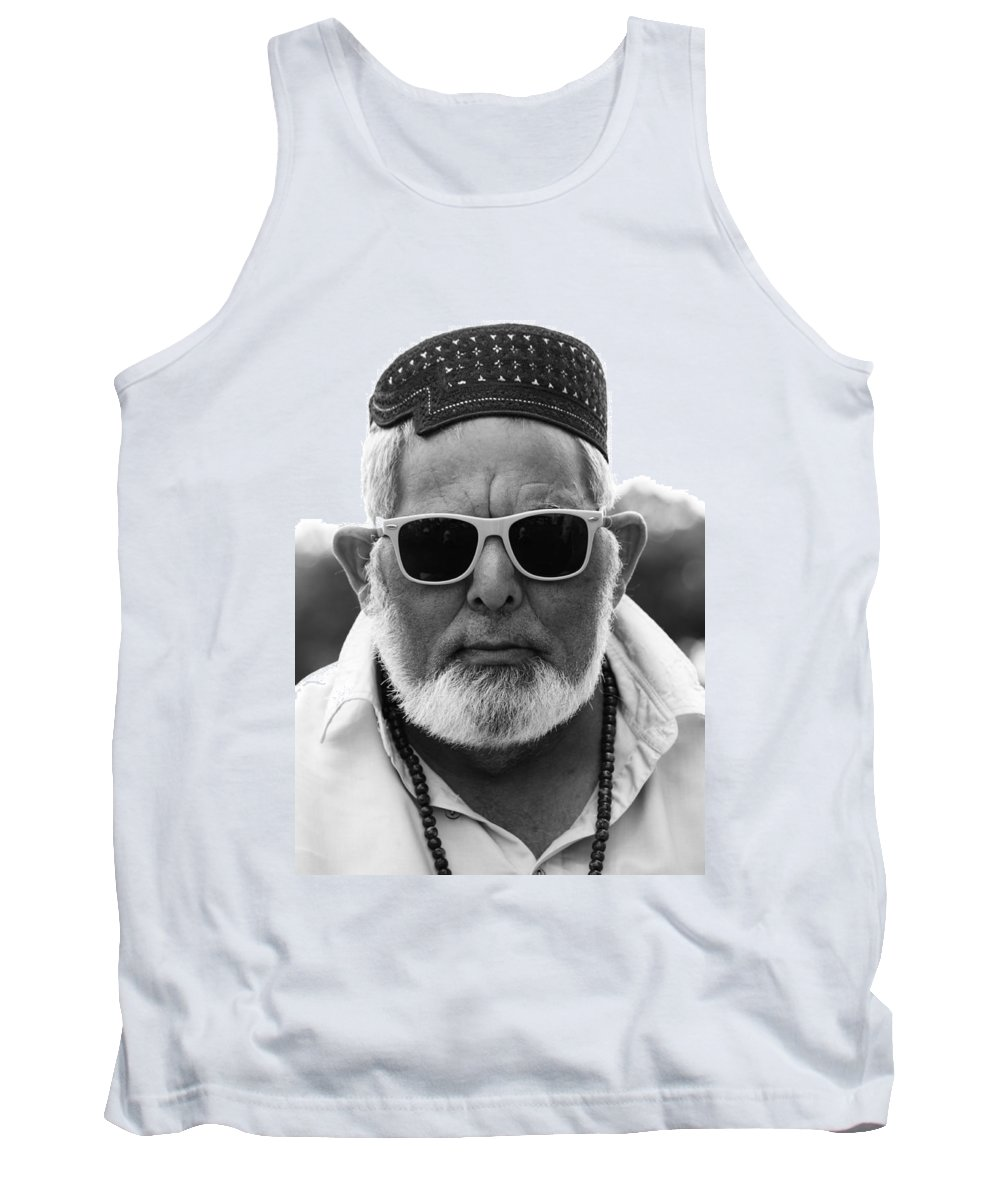 Street Tank Top featuring the photograph Mango Juice Seller by The Artist Project