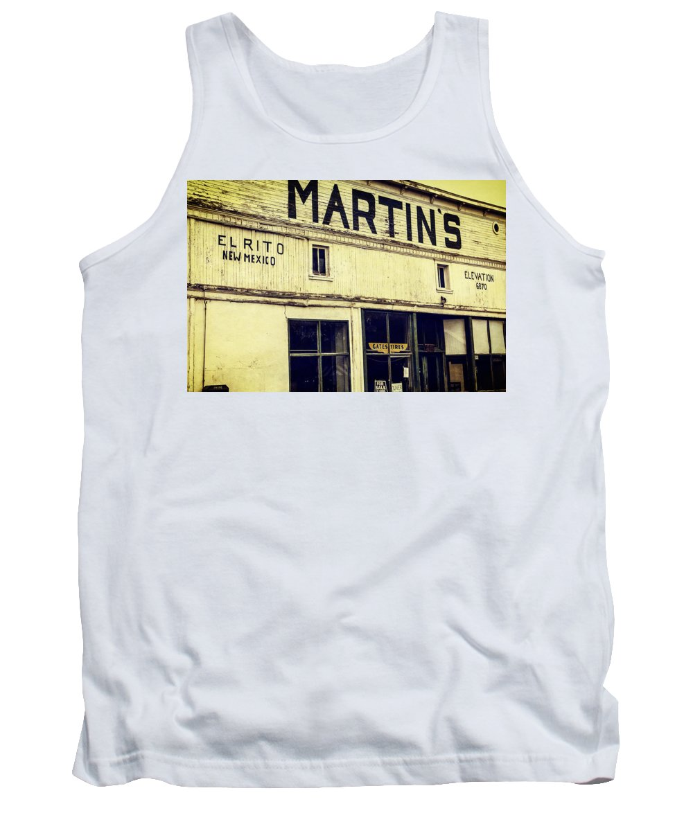 Steven Bateson Tank Top featuring the photograph Martins General Store by Steven Bateson