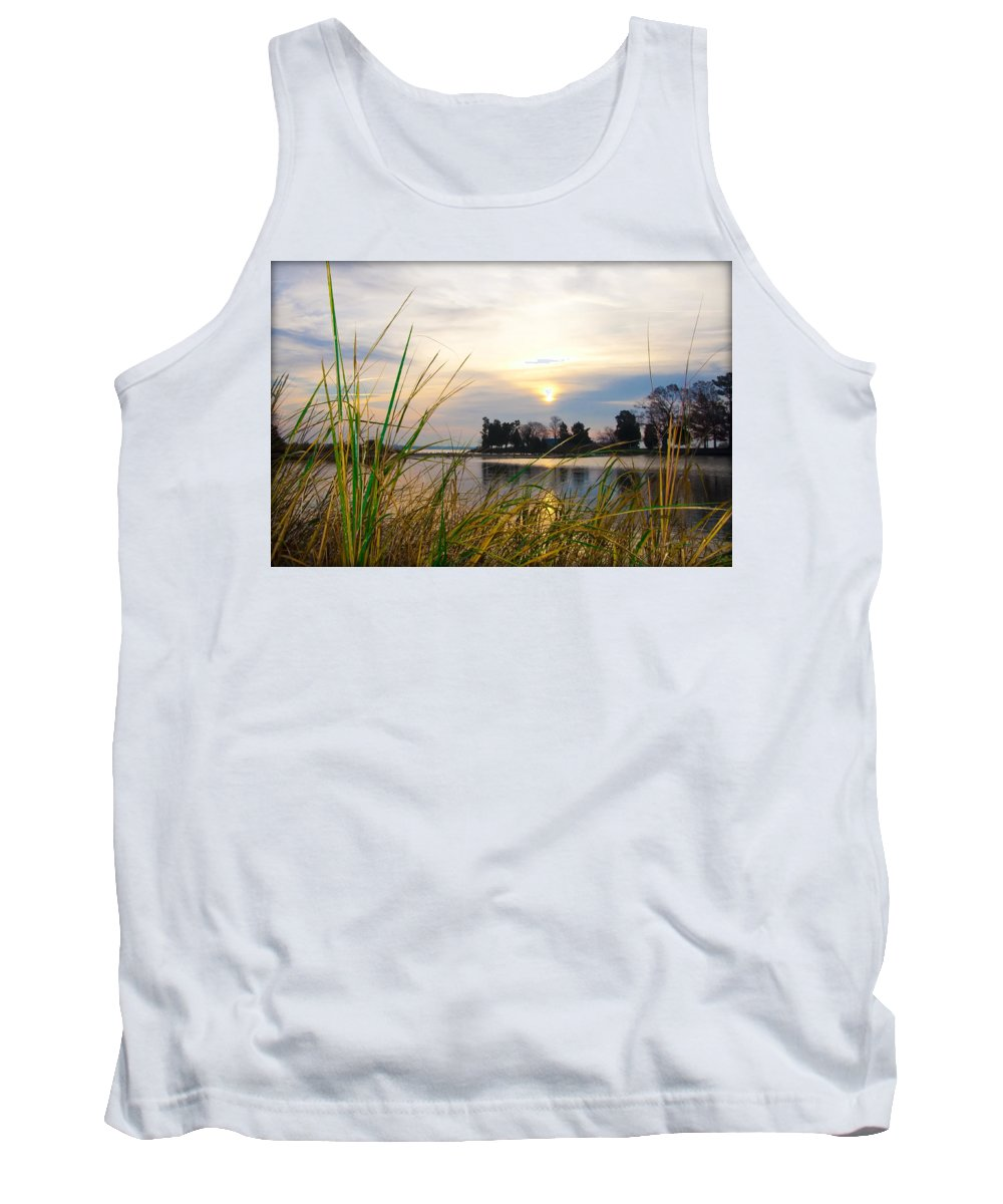 Maryland Tank Top featuring the photograph Maryland Morning by Bill Cannon