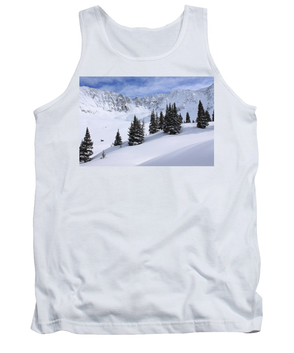 Colorado Tank Top featuring the photograph Mayflower Gulch by Eric Glaser