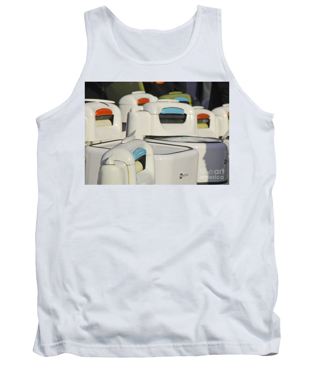 Still Life Tank Top featuring the photograph Maytag by Mary Carol Story