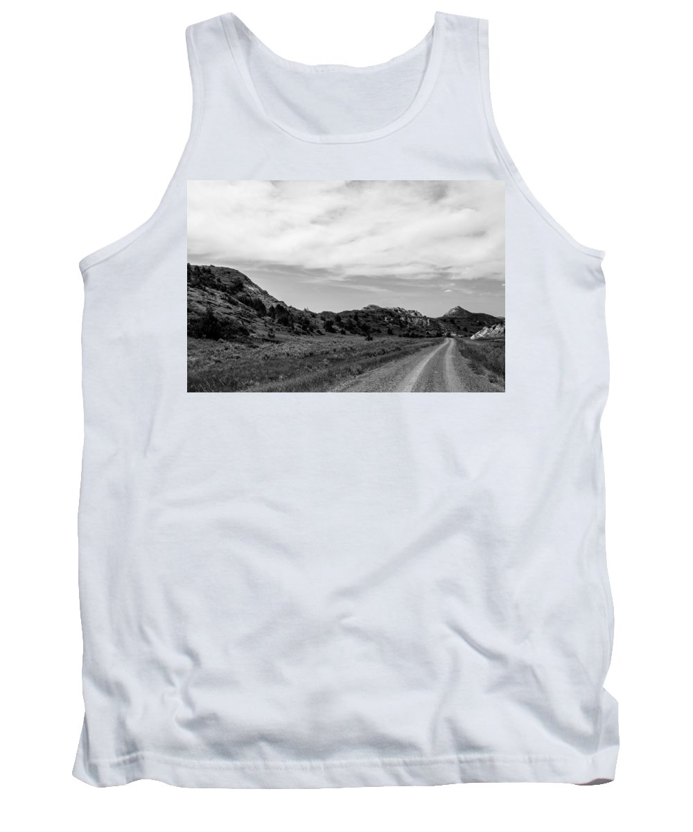 Badlands Tank Top featuring the photograph Medora 19 by Chad Rowe