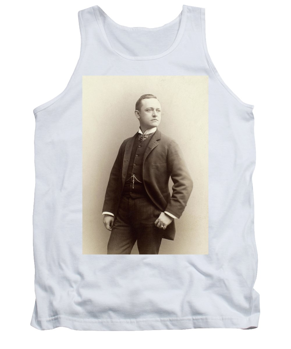 1885 Tank Top featuring the photograph Men's Fashion, 1885 by Granger