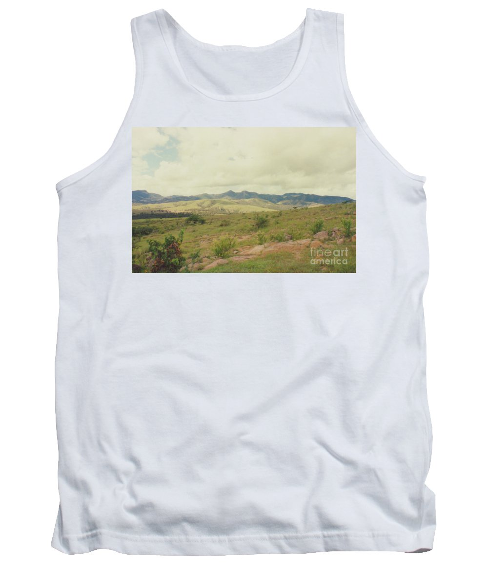First Star Tank Top featuring the photograph Mexican Mountains by First Star Art