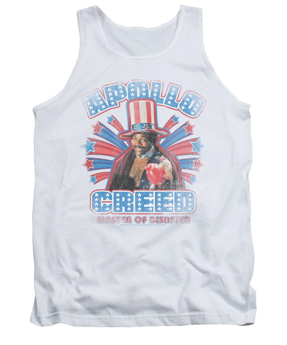 Sylvester Stallone Tank Top featuring the digital art Mgm - Rocky - Apollo Creed by Brand A