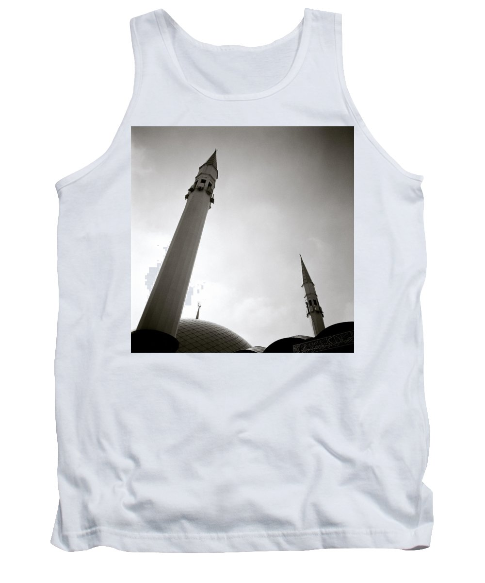 Sunset Tank Top featuring the photograph Minarets At Dusk by Shaun Higson