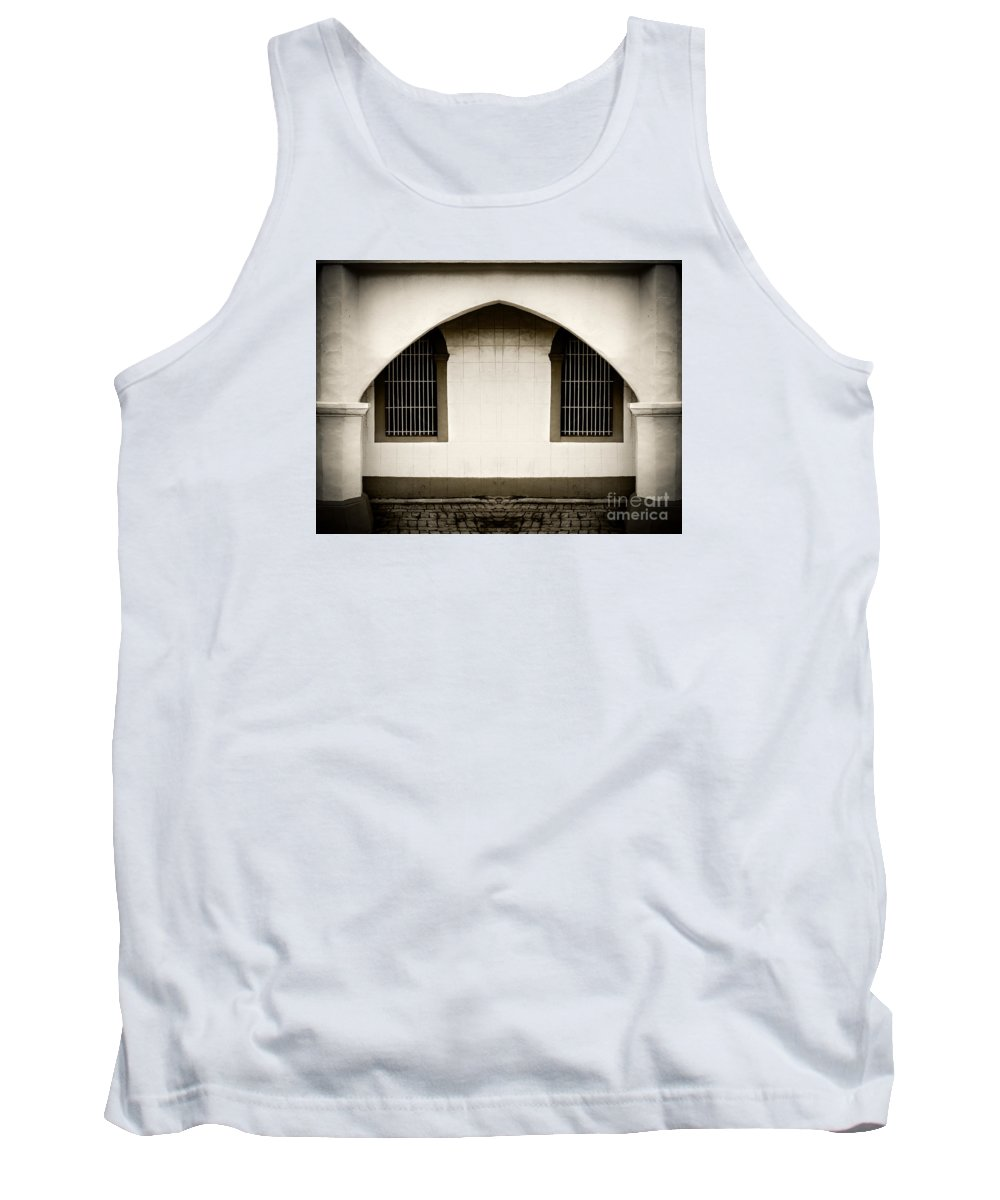 Arch Tank Top featuring the photograph Mirrored Arch by Michael Arend
