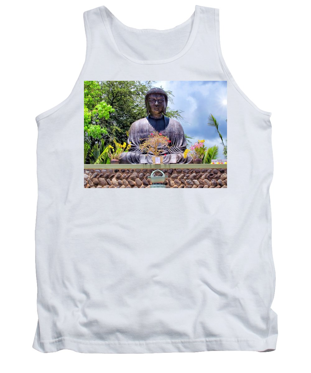 Hawaii Tank Top featuring the photograph Mission 11 by Dawn Eshelman
