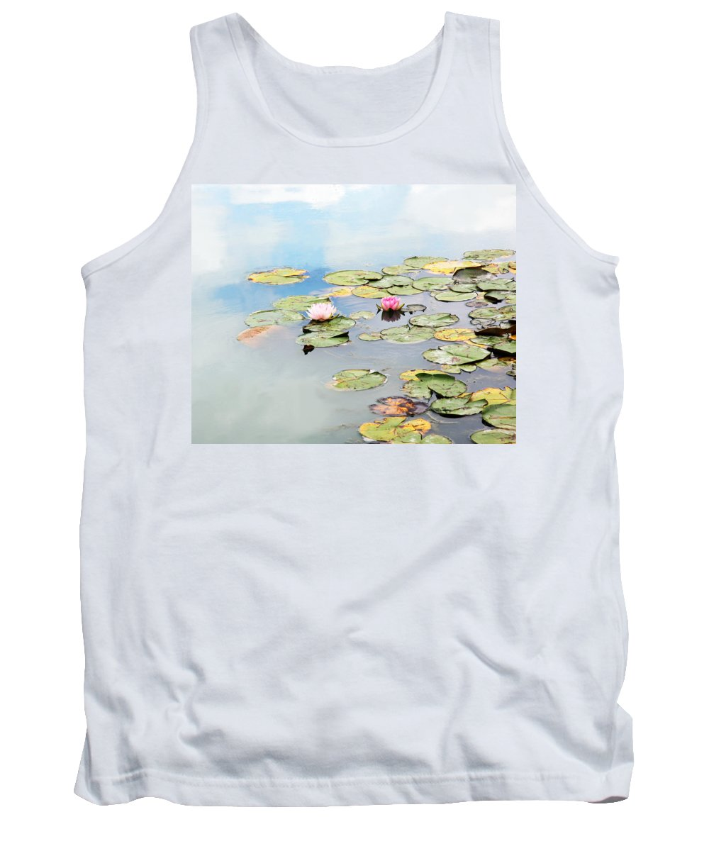 Water Lilies Tank Top featuring the photograph Monet's Garden by Brooke T Ryan