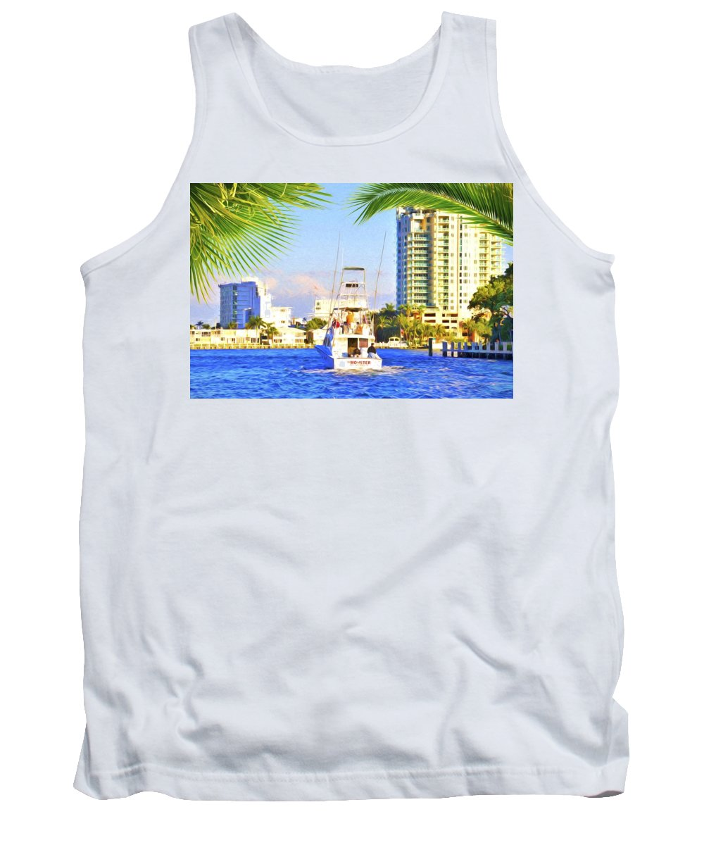 Monster Tank Top featuring the photograph Monster by Alice Gipson