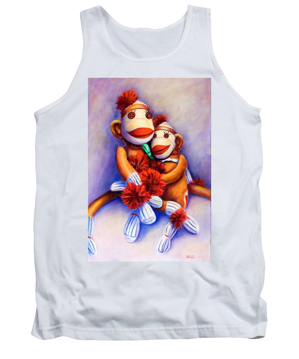 Children Tank Top featuring the painting Mother And Child by Shannon Grissom