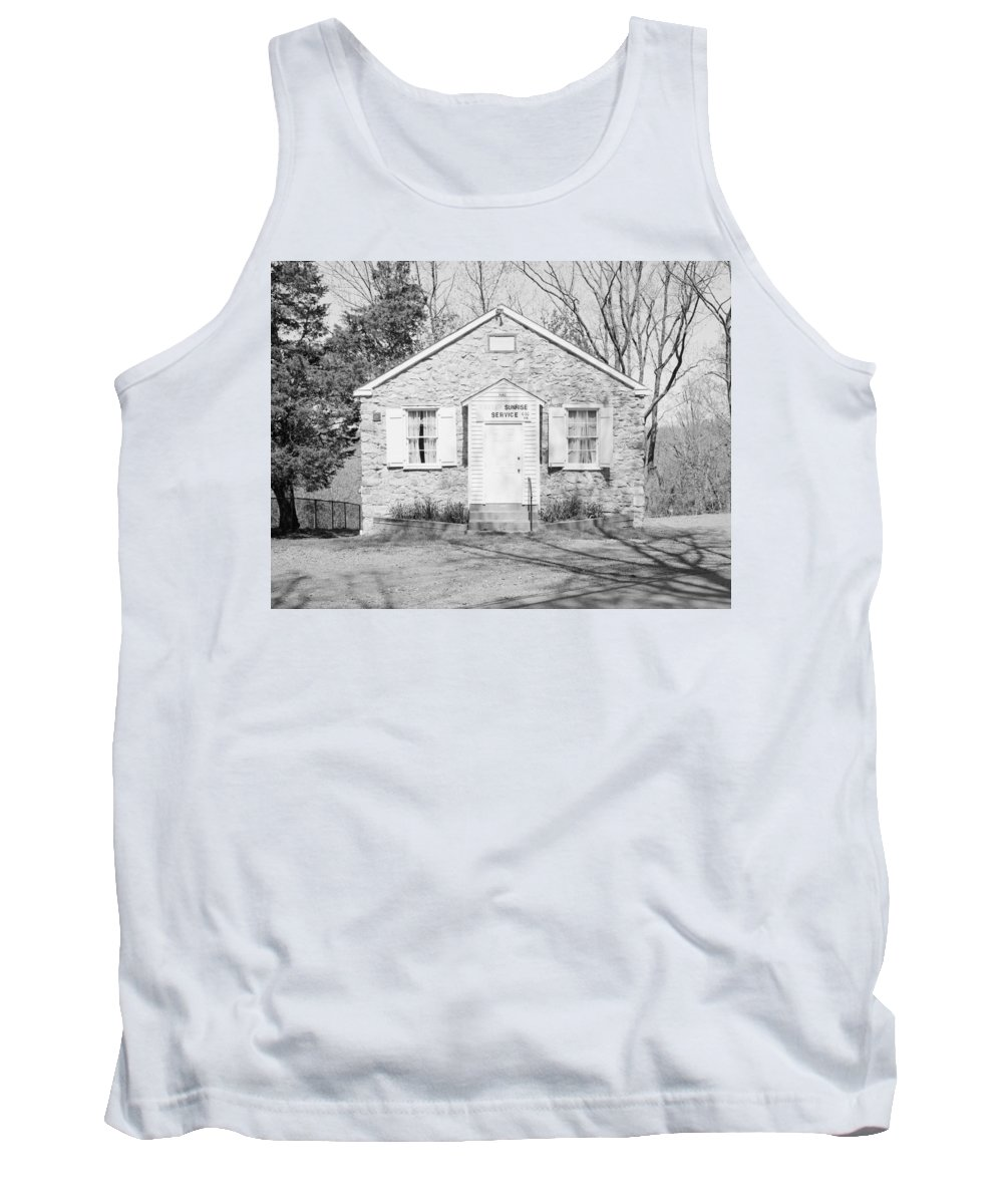 1834 Tank Top featuring the photograph Mount Gilead Ame Church by Granger