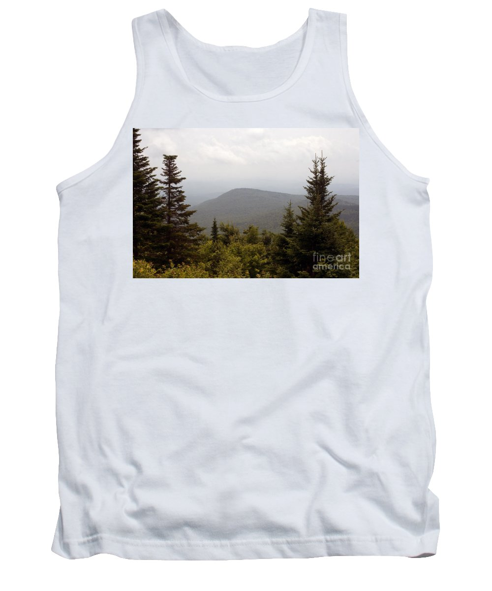 Kearsarge Tank Top featuring the photograph Mount Kearsarge 1 by Ray Konopaske