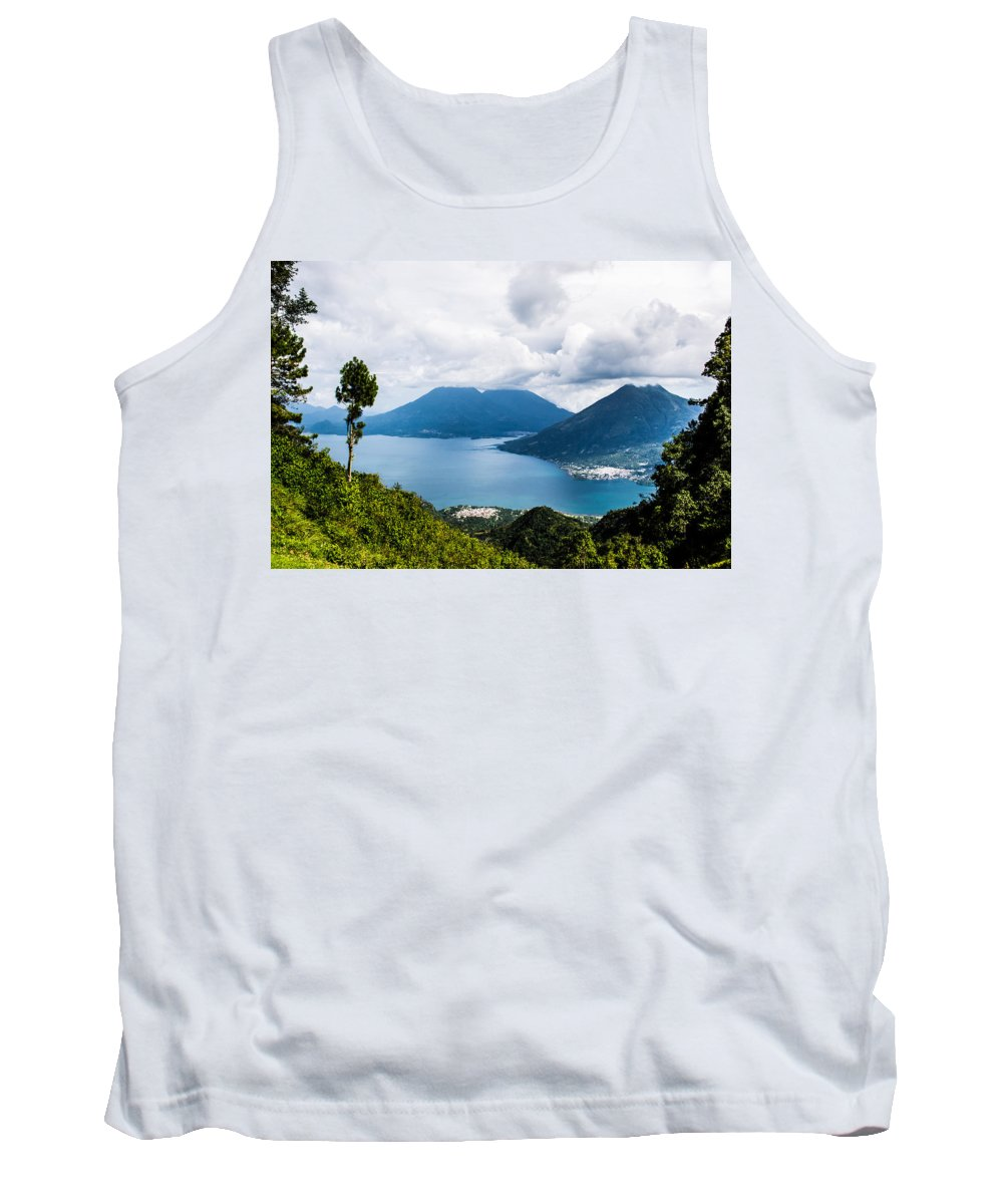 Guatemala Tank Top featuring the photograph Mountain Lakes In Guatemala by Parker Cunningham