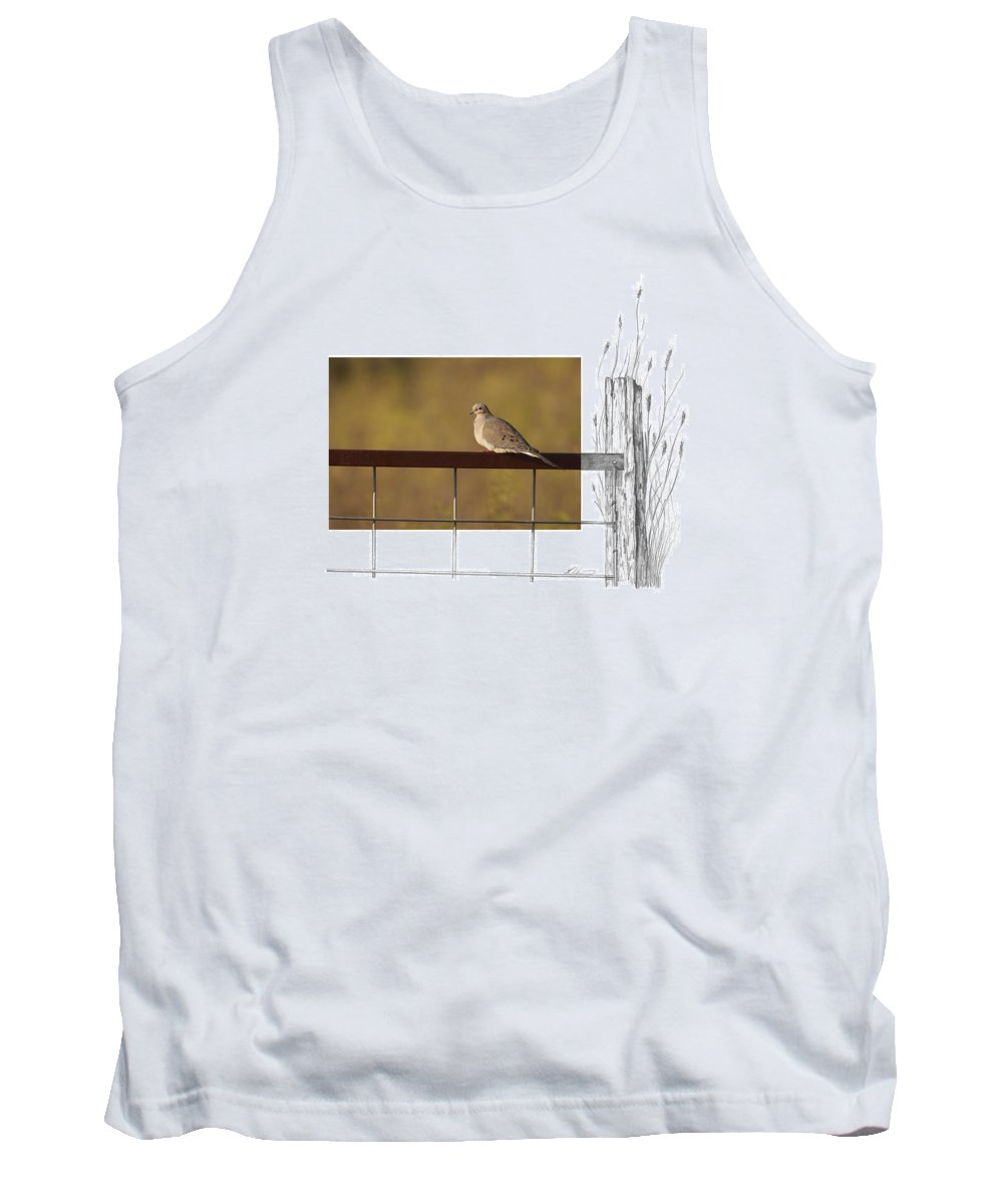 Mourning Dove Tank Top featuring the photograph Mourning Dove by Andrew McInnes