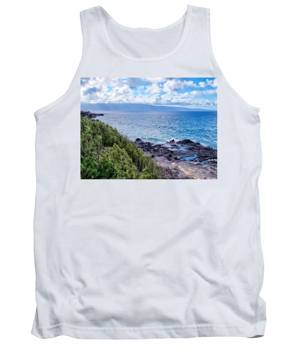 Hawaii Tank Top featuring the photograph Napili 82 by Dawn Eshelman