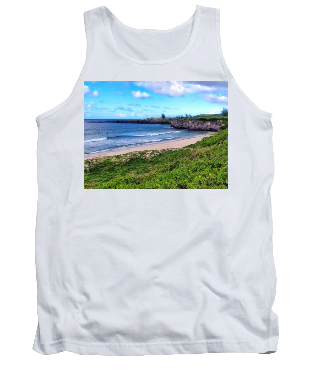 Hawaii Tank Top featuring the photograph Napili 87 by Dawn Eshelman