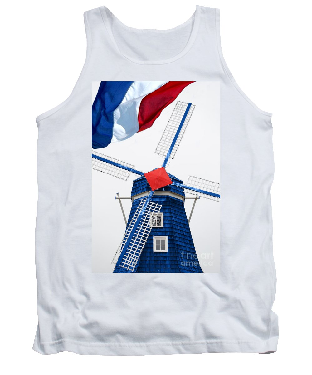 Netherland Tank Top featuring the photograph Netherland Windmill by Jost Houk