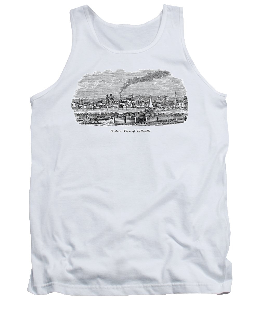 1844 Tank Top featuring the painting New Jersey Belleville by Granger