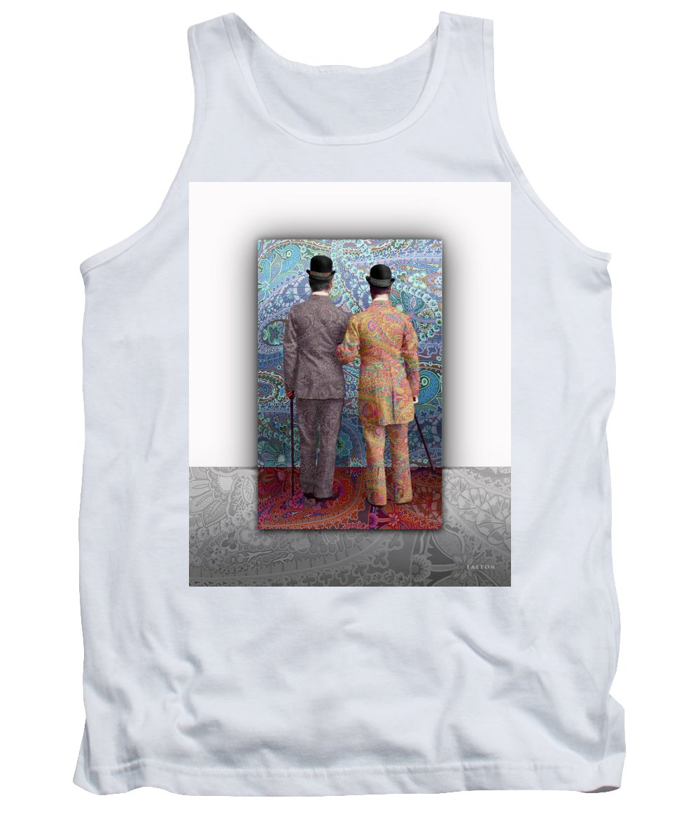 Gay Marriage Tank Top featuring the photograph No Borders by Richard Laeton