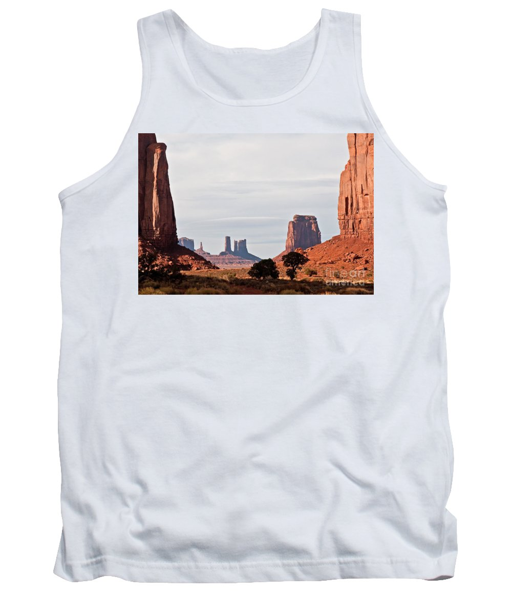 Serene Tank Top featuring the photograph North Window by Jim Chamberlain