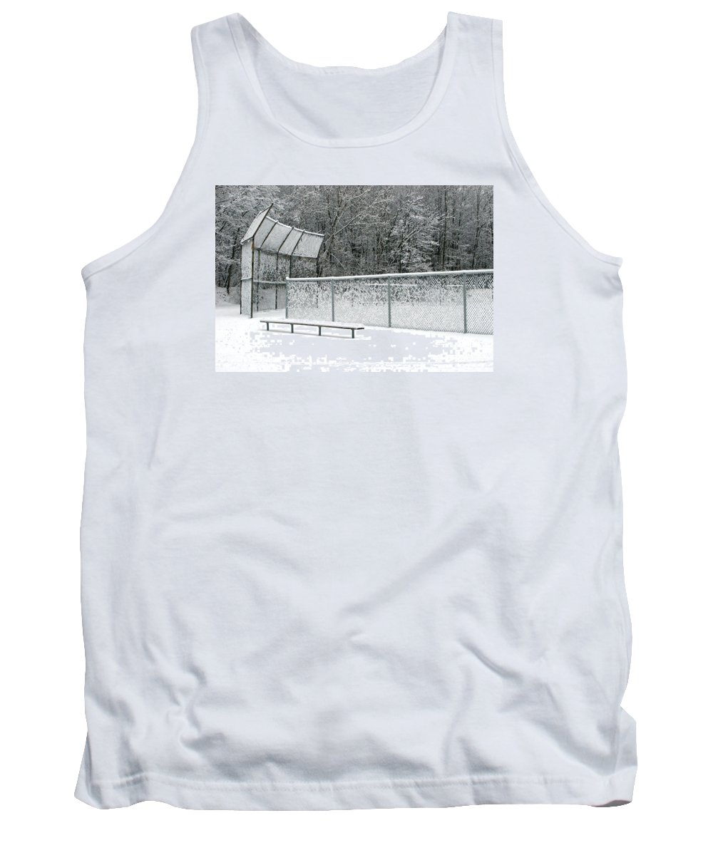 Winter Tank Top featuring the photograph Off Season by Ann Horn