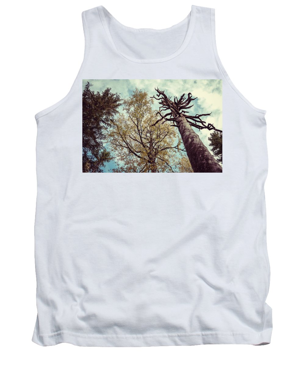 Old Tank Top featuring the photograph Old And Naked by Ari Salmela