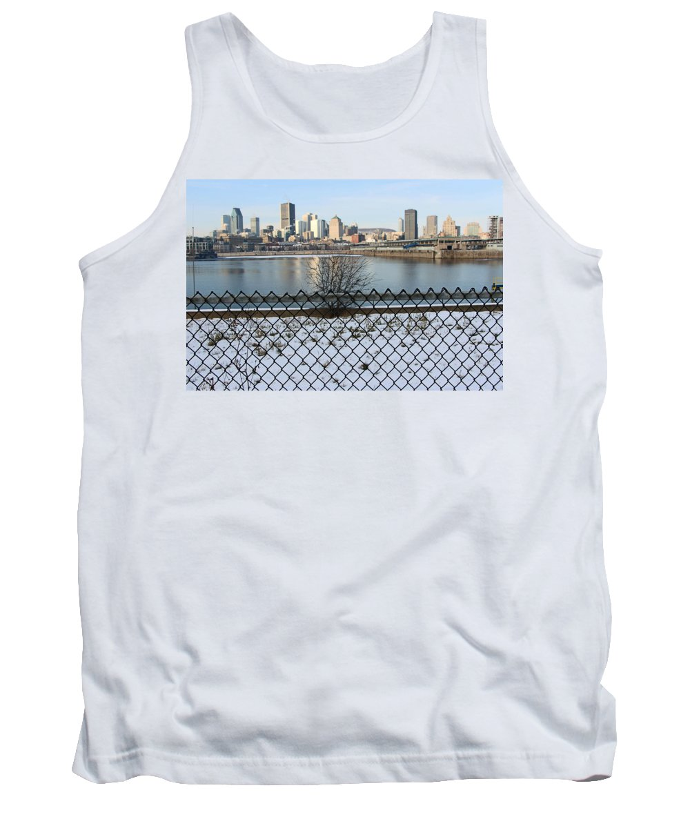 Montreal Tank Top featuring the photograph Old Port Of Montreal by Munir Alawi