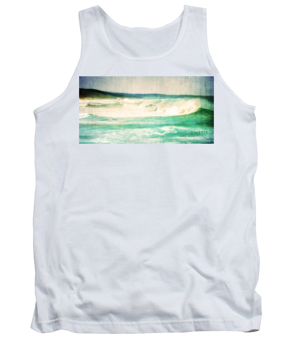 Vintage Tank Top featuring the photograph Old Surf by Phill Petrovic