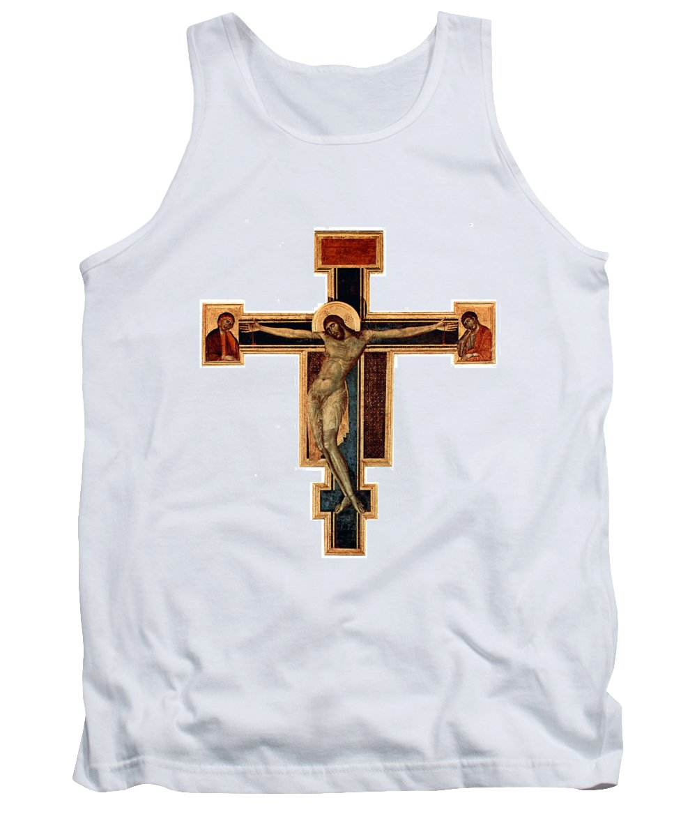 Orthodox Tank Top featuring the photograph Orthodox Cross by Munir Alawi