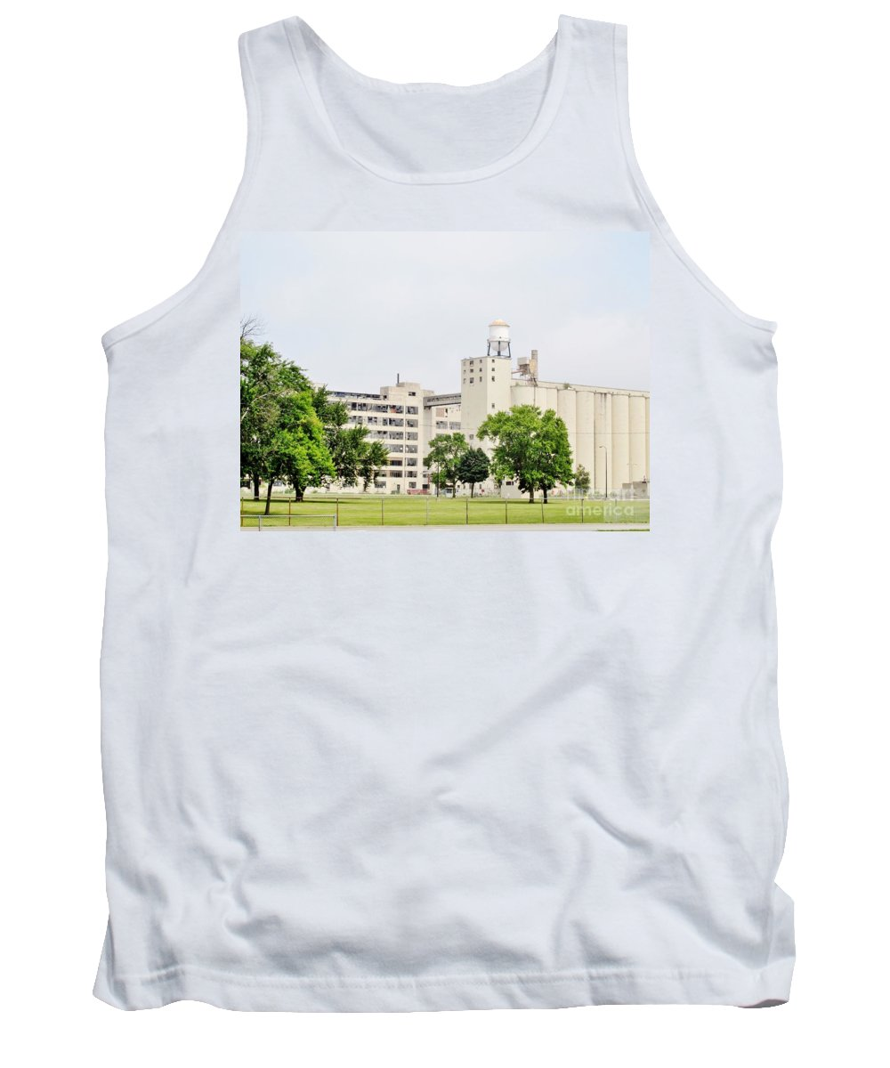 General Foods Tank Top featuring the photograph Out Of Business by Don Baker