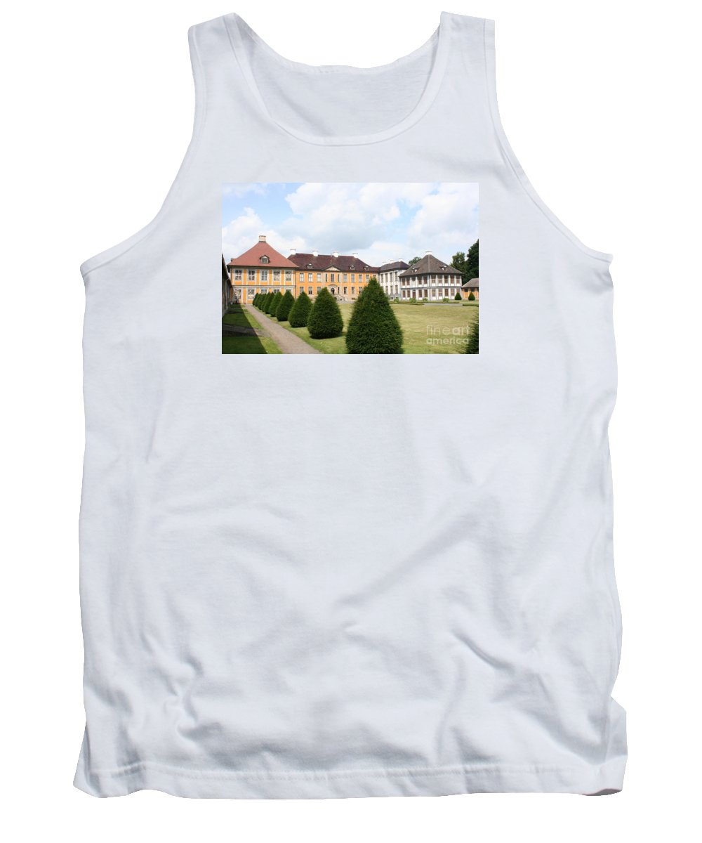 Palace Tank Top featuring the photograph Palace Oranienbaum - Germany by Christiane Schulze Art And Photography