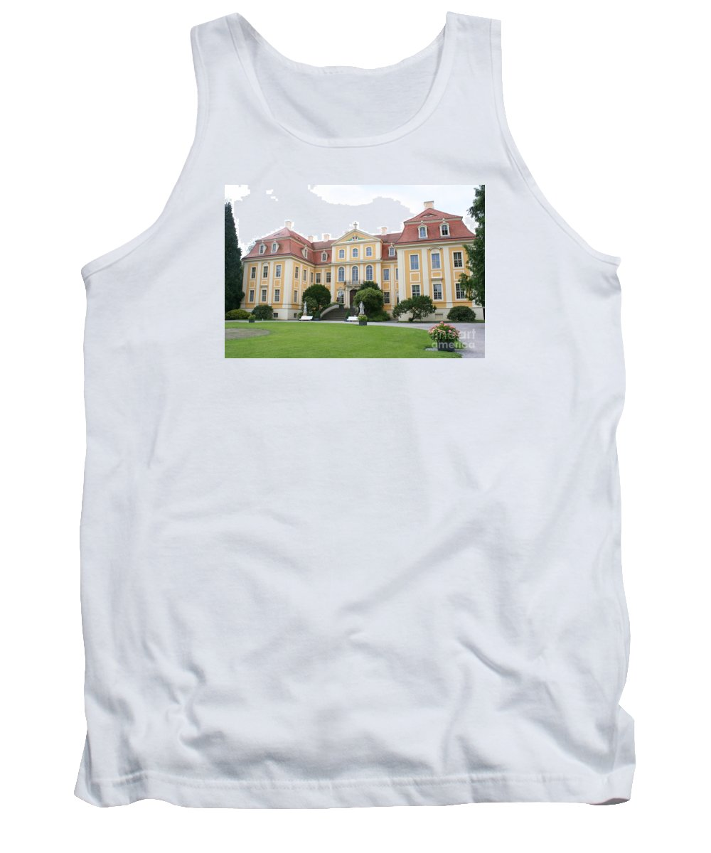 Palace Tank Top featuring the photograph Palace Rammenau - Germany by Christiane Schulze Art And Photography