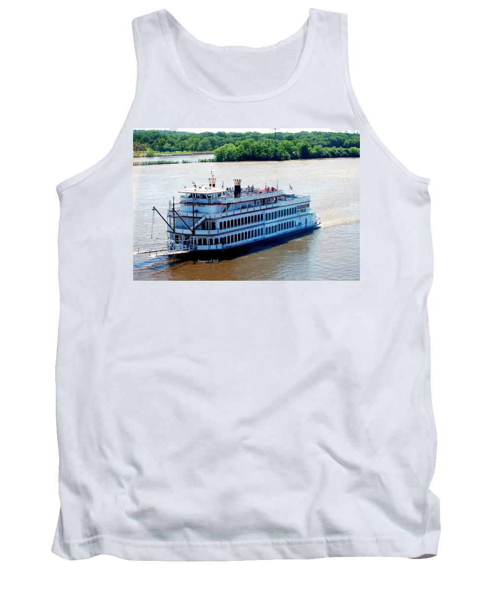 Riverboat Tank Top featuring the photograph Party Time by Scott Polley