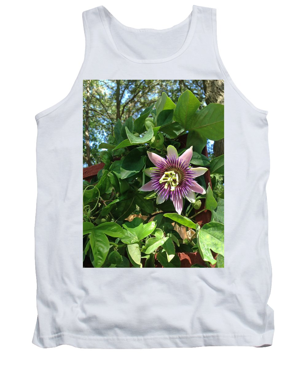 Passion Flower Tank Top featuring the photograph Passion Flower 3 by Aimee L Maher ALM GALLERY