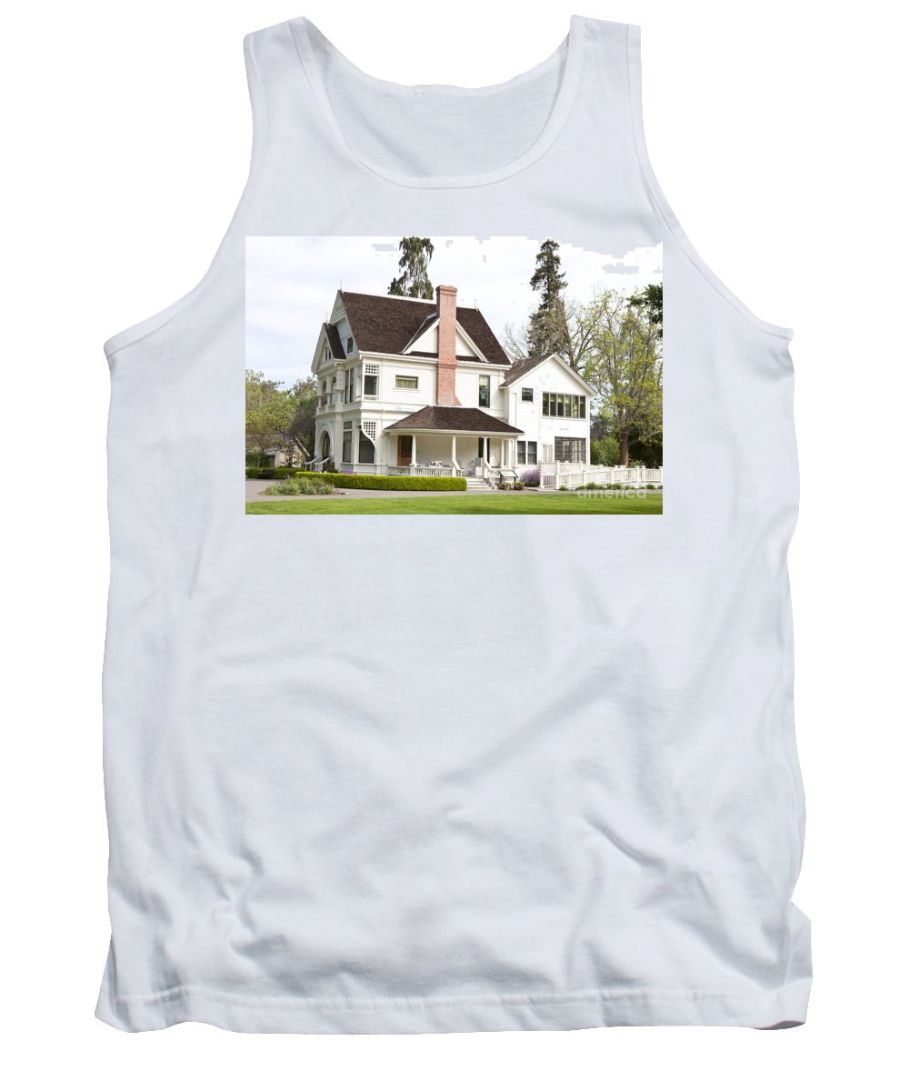 Patterson House Tank Top featuring the photograph Patterson House Ardenwood Historic Farm by Jason O Watson