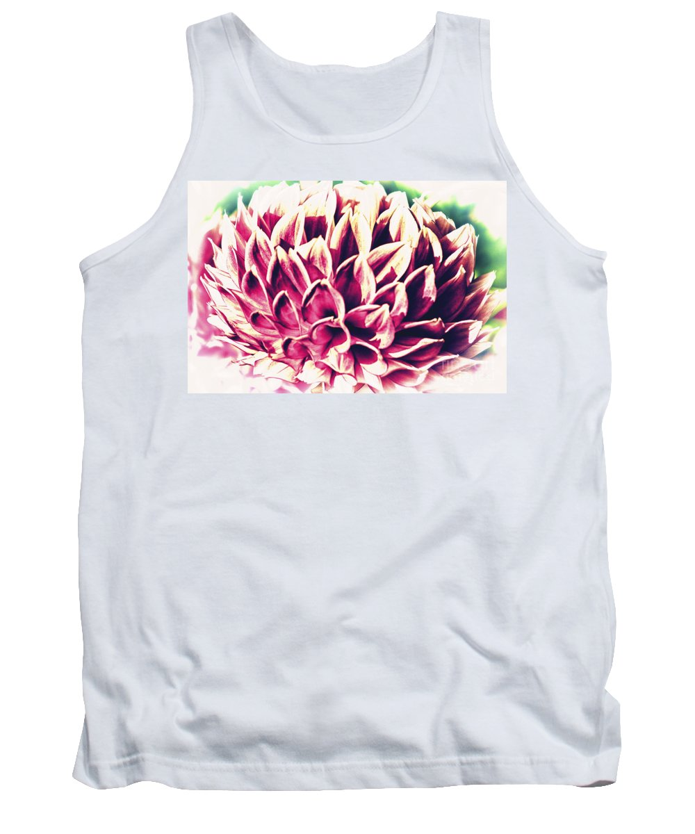 Flower Tank Top featuring the photograph Petaled by Joe Geraci