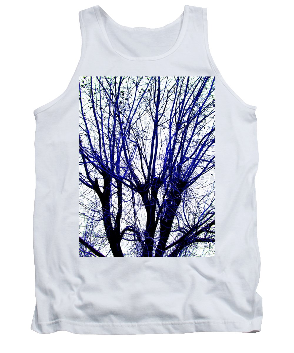 Blue Tank Top featuring the photograph Vessels Of Blue by M Pace