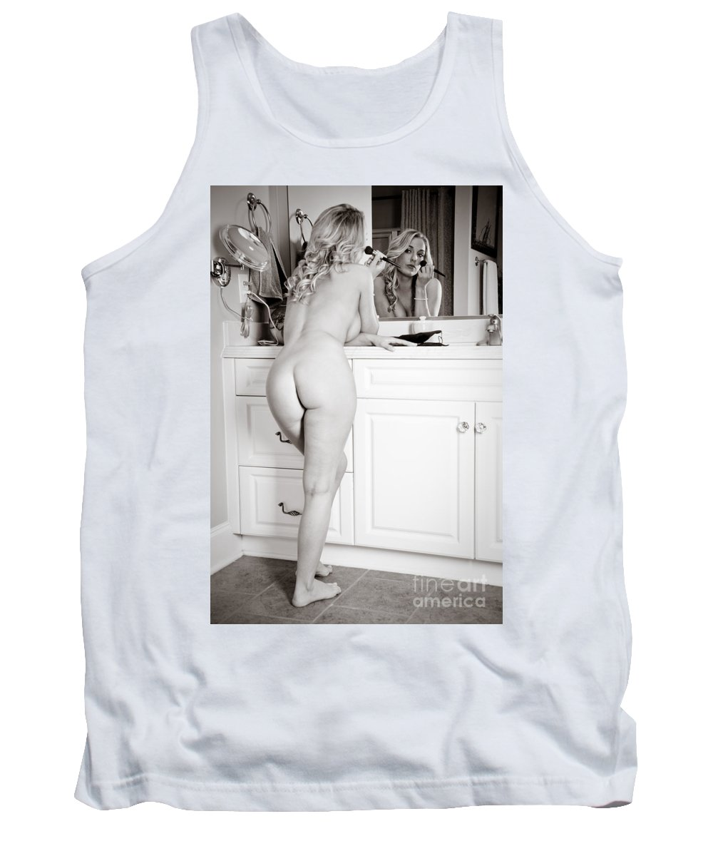 Art Tank Top featuring the photograph Powder Room 2 by Jt PhotoDesign