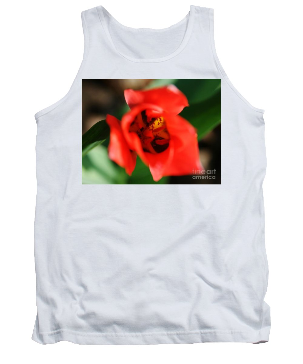 Flower Tank Top featuring the photograph Pre-pollination by Neal Eslinger