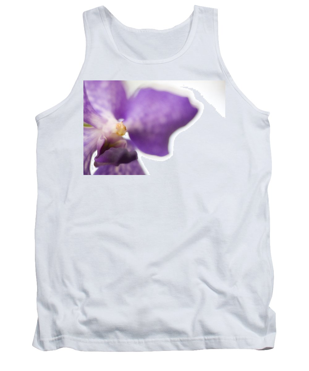Purple Tank Top featuring the photograph Purple Orchid by Bradley R Youngberg