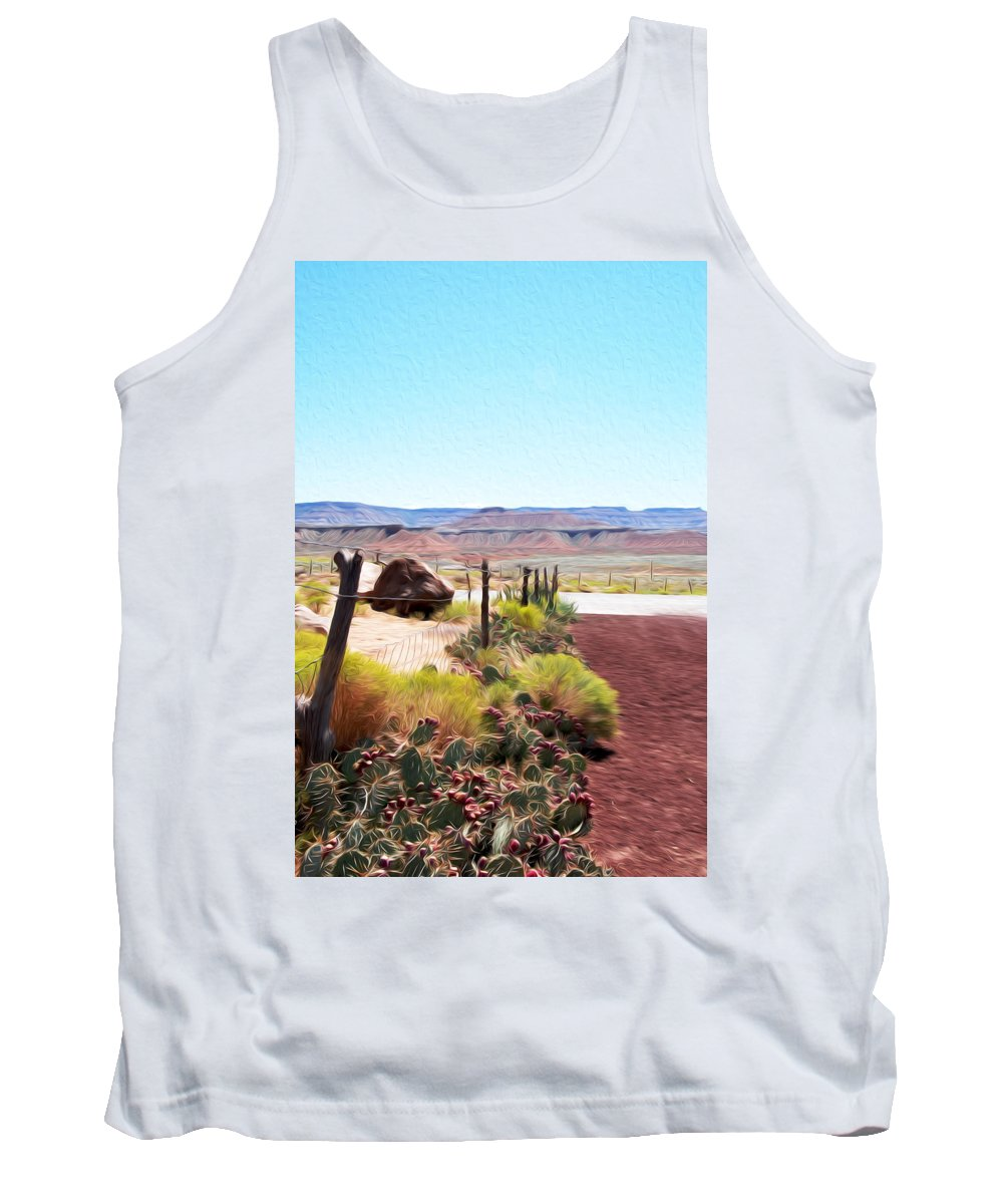 Utah Tank Top featuring the photograph Random View In Utah 2 by Tracy Winter
