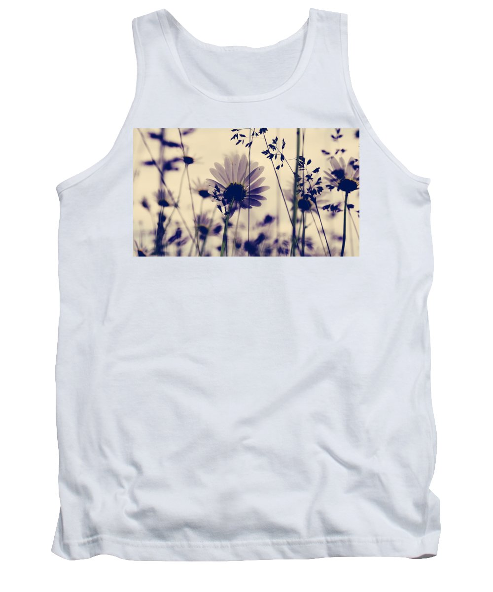Flowers Tank Top featuring the photograph Recoil Selfs Sway by The Artist Project