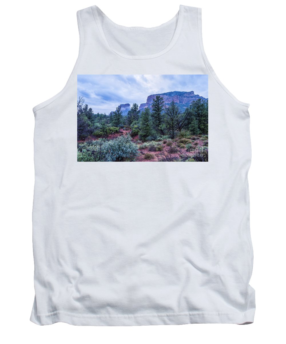 Sedona Tank Top featuring the photograph Red Hills by Larry White