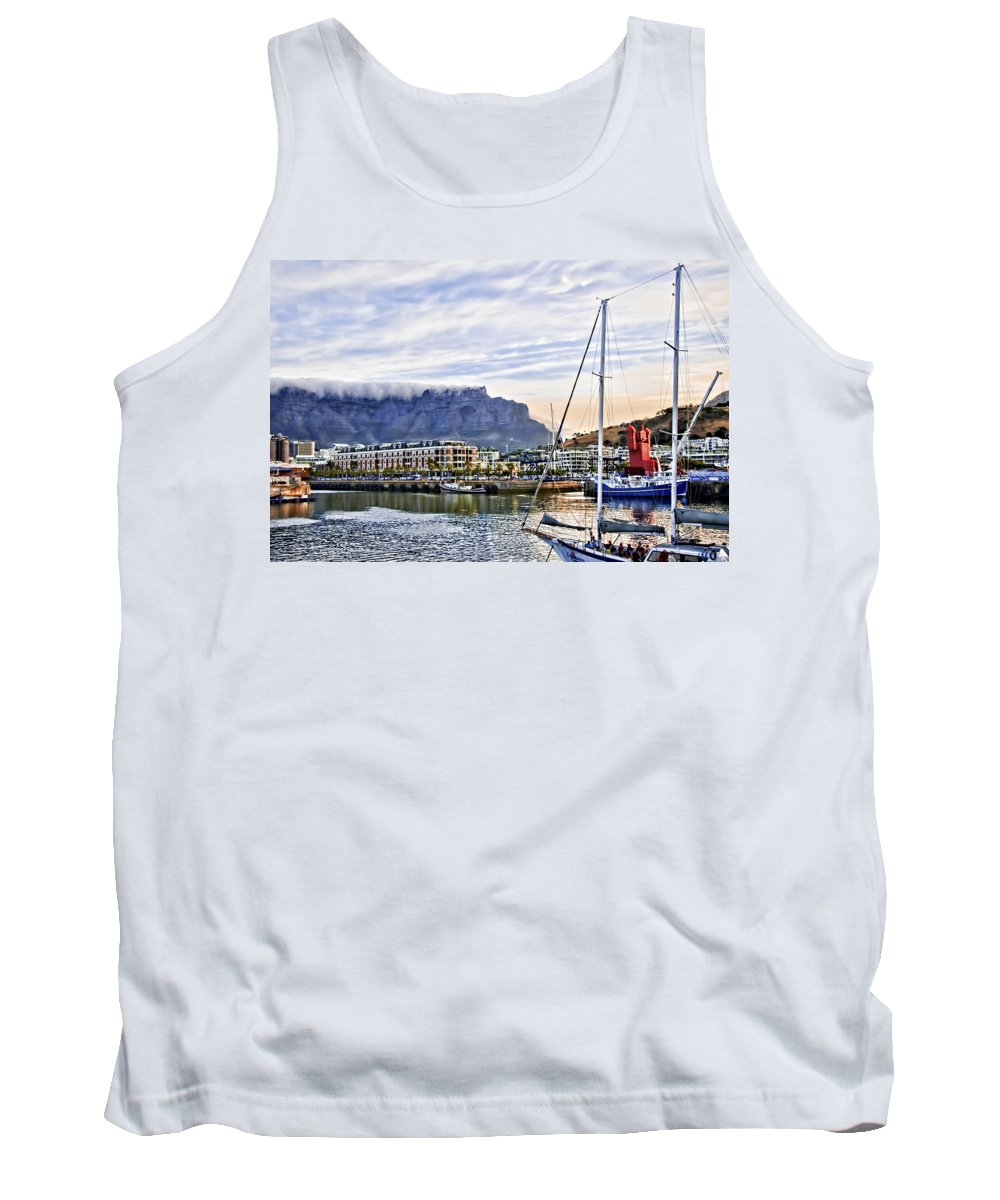Africa Tank Top featuring the photograph Red Statue by Maria Coulson