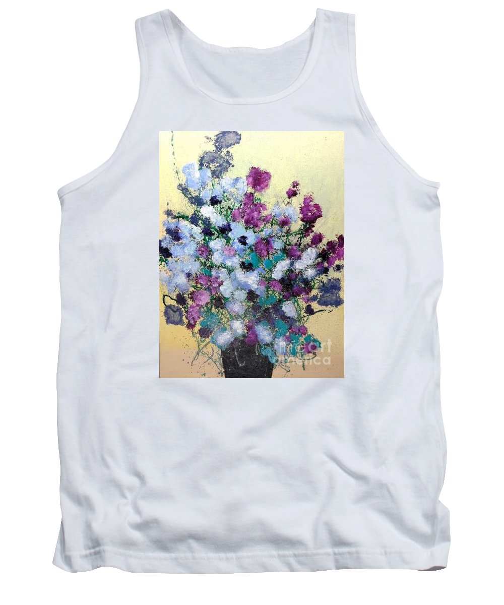 Landscape Tank Top featuring the painting Remembering When by Allan P Friedlander