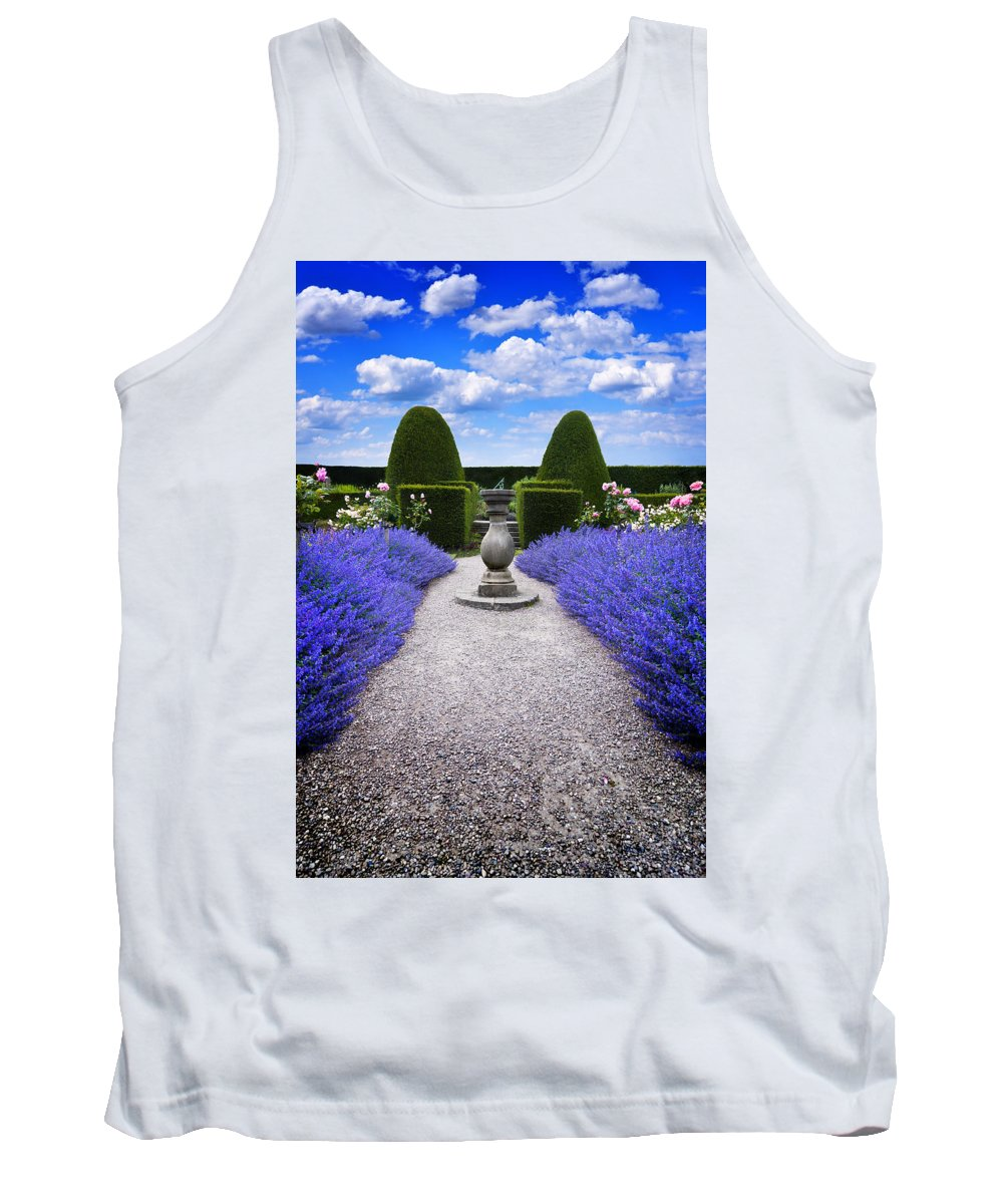 Purple Tank Top featuring the photograph Rhapsody In Blue by Meirion Matthias