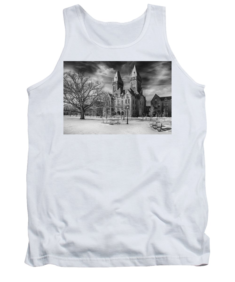 Buffalo Tank Top featuring the photograph Richardson Complex 3d21965b by Guy Whiteley